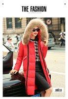 Women argyle knee highs - Luxury High Quality Raccoon fur Collar Thickening Down Knee Length Slim Women Winter Goose Down Coat Parka Womens winter Jackets Outwear