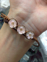 Wholesale The dried flower bracelet comfortable style give his girlfriend a gift A group of five Random delivery