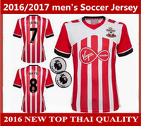 Wholesale Best thai quality new men s Southampton soccer Jerseys Home LONG DAVIS AUSTIN TADIC soccer football shirt Jersey
