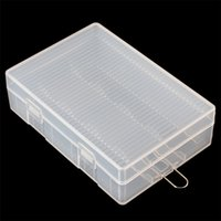 Wholesale Light Portable Hard Plastic Case Holder Storage Box for x Batteries