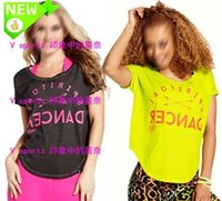 Wholesale 2016 new Sports T shirt Yoga Dance Tops Top male and Women s Cotton T shirt T319