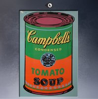 Oil Painting andy warhol arts - Andy Warhol Campbell s Soup Can pop art paint Wall Painting picture Home abstract Decorative Art Picture