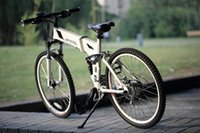 Wholesale 26 inch electric folding bicycle V W one second foldable electric bike mini city ebike for adult