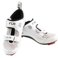 Wholesale Fashion bike shoes black and white road bike sports outdoor triathlon shoes easy magic stickers F