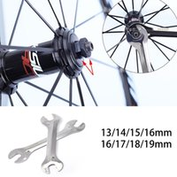 Wholesale 1Pc Bike Hub Cone Wrench Bicycle Wheel Axle Pedal Spanner Repair Tool mm xian