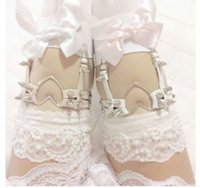 Wholesale Soft sisters sexy garters for stocking with garters women black white pink funny garters sexy wearing for daddy s little girls
