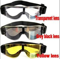 Wholesale New Hot Hunting Airsoft X800 Wind Dust Protection Tactical Goggle Sun Glasses