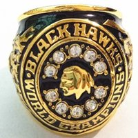 Wholesale 1961 Chicago Blackhawks Stanley Cup Replica Alloy Championship Ring
