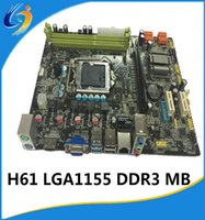Wholesale new intel chipset H61 LGA1155 desktop Motherboard