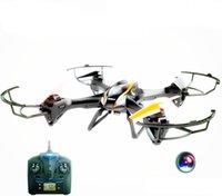 2017 nouvelle vente en gros et de détail U842 haute définition caméra aérienne UAV à double sens de transmission arrière fonction 2.4G aéronefs à télécommande de quatre axes