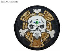 animated space movie - Space Marine Crux Terminatus Sergeant Badge Warhammer k Animated Movie TV Series Costume Woven Emblem applique iron on patch