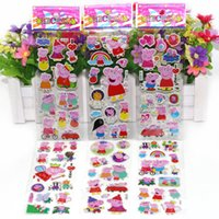 bedroom mixes - Cartoon D stereoscopic Sticker Child Bedroom Wall decorate Varied style Mixed Stickers