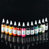 airbrush tattoo inks - Brand OPHIR Color x ML Bottle Airbrush Inks Body Art Paint Colors for Temporary Tattoo Inks Pigment