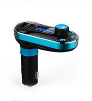 Bluetooth Car Kit accessories for automobiles - Bluetooth Car Stereo Kit FM Transmitter Car Bluetooth Car Charger Handsfree Mp3 Usb Handsfree Auto Accessories Automobile Universal