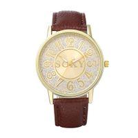 best mens digital watch - Mens Boys Watch Quartz Watches Clock Wristwatch Leather Watchband KANINO Brand Best Gift WH0002D WH0003A WH0008B WH0033A WH0035D WH0036D