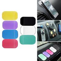 Wholesale 2017 Car Magic Anti Slip Dashboard Sticky Pad Non slip Mat GPS Phone Holder Accessory