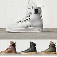 air force special forces - With Box New Men Women High Air Force SF AF1 Running Shoes Fashion Unisex Special Field Forces Urban Utility Boots Sneakers Sports Shoes