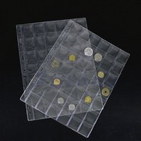 Wholesale Pockets Classic Plastic Coin Holders Sheets For Storage Collection Album Case