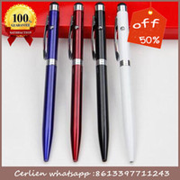 Wholesale High quality slim mental pen laser pen with stylus