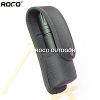 Wholesale ROCO High Density Nylon Molded Pepper Spray Pouch Holder Tactical Flashlight Pouch with Belt Loop