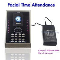 Wholesale Facial Recognition Terminal Face PASSWORD Employee Time Attendance Clock Check in Check Out Face Detection Biometric Tracking ZKTeco EF100