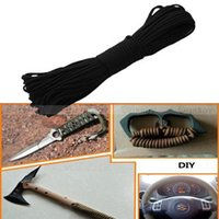 Wholesale 122 quot Parachute Cord Mil Spec Core Strand Outdoor Survival Paracord Parachute Cord Lanyard Rope Camping Equipment order lt no track