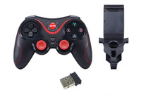 Android,IOS,PC Wireless Controller Shock GEN GAME S5 Bluetooth Wireless Game Controller Gamepad Joystick for IOS iPhone iPad Android Smart Phone Smart TV VR Box DHL Free Shipping