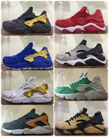 best running trainers - 2017 Air Huarache Premium Shoes Best High Qualiry Mens Hurache Ultra Shoes Leather Huaraches Sneakers Trainers Harache Running Shoes Store