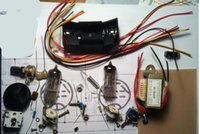Wholesale DIY KIT Tube Radio Kit DC two light kit CW SSB radio battery powered shortwave receivers