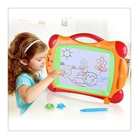 Wholesale 2017 New Magnetic Drawing Board Painting Color Children s Best Gift Graffiti Early Childhood Educational Painting Board Toys For Kid DHL