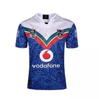 Wholesale 2017 NRL National Rugby League New16 Zealand Warriors new jersey High temperature heat transfer printing jersey Rugby Shi