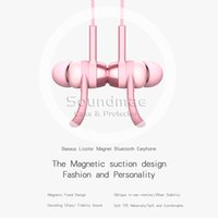 abs earphones - Bluetooth Earphone For iPhone For Smart Phone PB Magnet Series ABS Aluminum Alloy In Ear With Retail Package