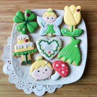 bakery decorated cakes - 8pcs patisserie Kitchen Accessories Fairy Angel Moldes Metal Cookie Cutters Fondant Cake Decorating Tools Biscuit Pastry Shop Bakery Mould