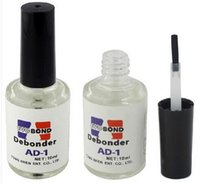 Wholesale False Eyelash Extension Adhesive Glue Remover Liquid Debonder Remove false nails AD ML