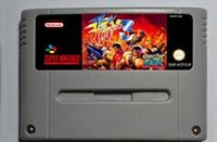 action fighting games - SNES Game card Action Game Cartridge Final Fight EUR Version English Language
