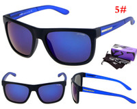 arnett sun glasses - Luxury brand men women brand design NewSight Arnett sunglasses Men summer sports reflective Sun Glasses with original box case