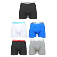 Wholesale GRAT UNIC Hot Selling Mens Pack Cotton Classic Boxers Briefs Shorts with Pouch S XXL
