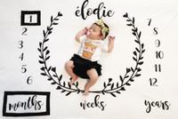 0-12m girl beds - 2017 Ins News Infant Baby Boys Girls Baby Photograph Blanket Children Nursery Bedding Kids Photograp Blankets Swaddling