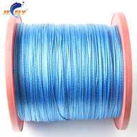 Wholesale lbs mm Braided Fishing Line UHMWPE strands M UHMWPE