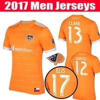 Wholesale 10pice ship DHL TOP thai quality MLS Houston soccer jerseys DYNAMO football Running jersey shirt