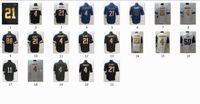 Nouveau Maillot d'équipe de Jersey de Football # 4 # 21 Avec Numéro d'Or Nom Couleur Tous Style Ship By DHL Taille 40-56 Stitched Mix Ordre LI Football JERSEY