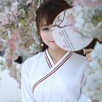 Wholesale YUMU Women s Chinese Ancient Hanfu Costume Clothing National Ruqun Dress Suit Garment HF A4