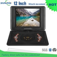 Wholesale New Arrival Inch Blue Portable Dvd Player With Game Function And Misic Video Support For Sd Ms Mmc Card