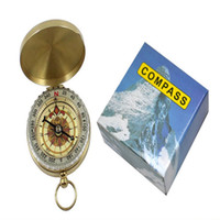 backpacking essentials - Classic R1B1 Brass Pocket Watch Style Camping Compass Hiking essential tool for people who loves outdoor activities