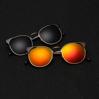 Wholesale Tea Horse PQ1550 new D retro sunglasses men and women general sunglasses Europe and the United States fashion glasses number