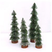 article form - Noble form of mini cm Pine type green sticky white pine needles small Christmas meal Christmas desktop furnishing articles kg