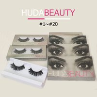 Wholesale Huda Beauty Faux Mink Eye Lashes False Eyelashes Choose From Styles