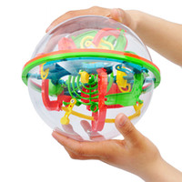 Wholesale 3D Spherical Maze Intellect Ball Balance Game and Puzzle Toy Educational Training Tools Barriers