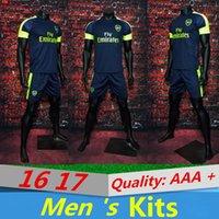 Wholesale AAA quality Arsenal second road set GIROUD ALEXIS WILSHERE OZIL Hot Buy