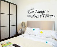 best life quotes - Best Things in Life Wall Stickers Quotes Stickers Home Decor Wall Sticker on the wall vinilos adhesivos decorativos pared x60cm pc